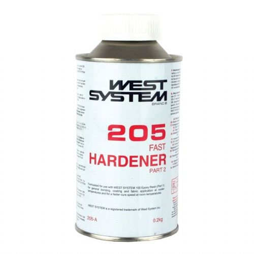 West System 205A 205B Epoxy Hardener .2kg and 1kg 5:1 Ratio